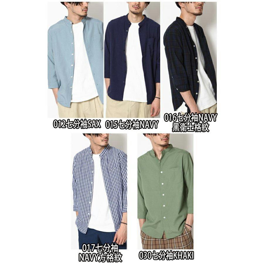 立領短袖襯衫 休閒衫 2