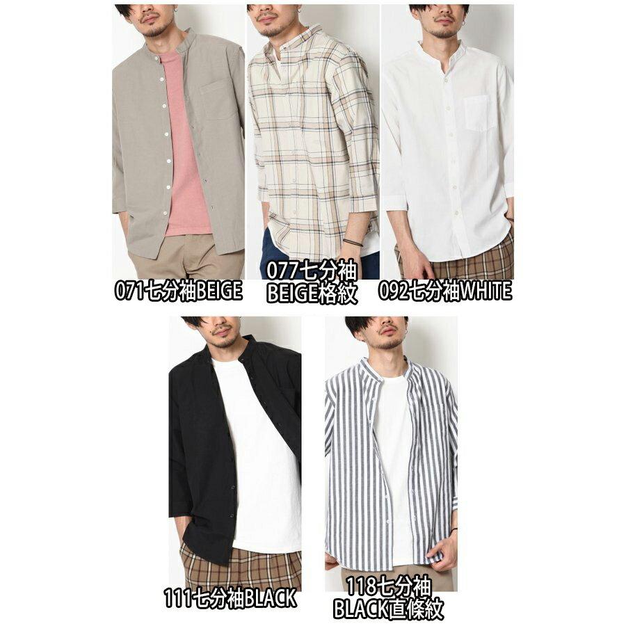 立領短袖襯衫 休閒衫 3