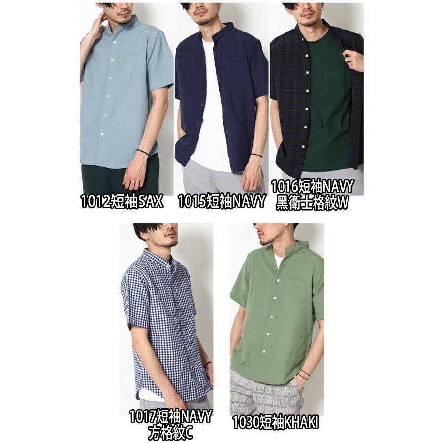 立領短袖襯衫 休閒衫 4