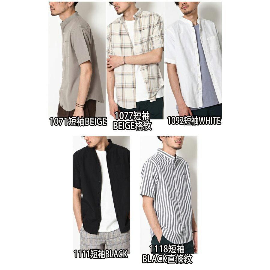 立領短袖襯衫 休閒衫 5