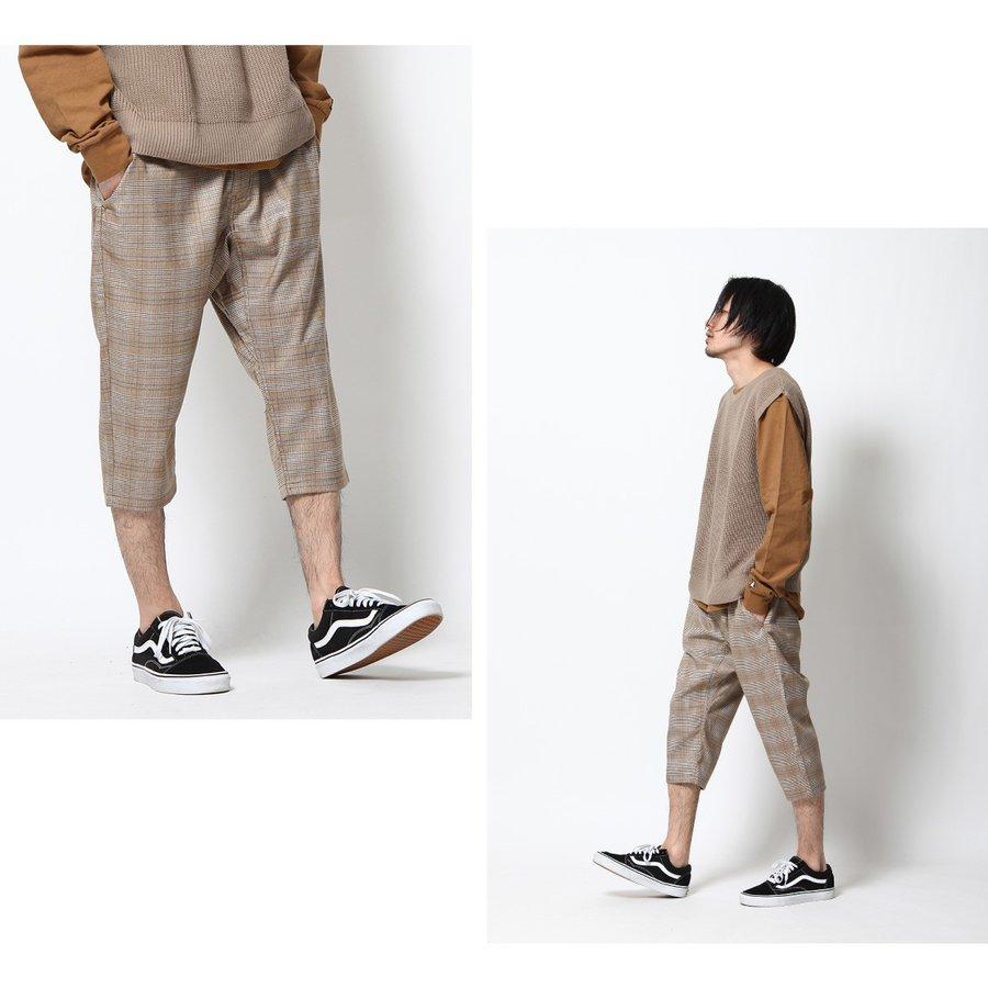 修身7分褲 休閒褲 1