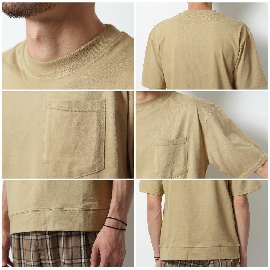 短袖口袋T恤 接觸涼感 4