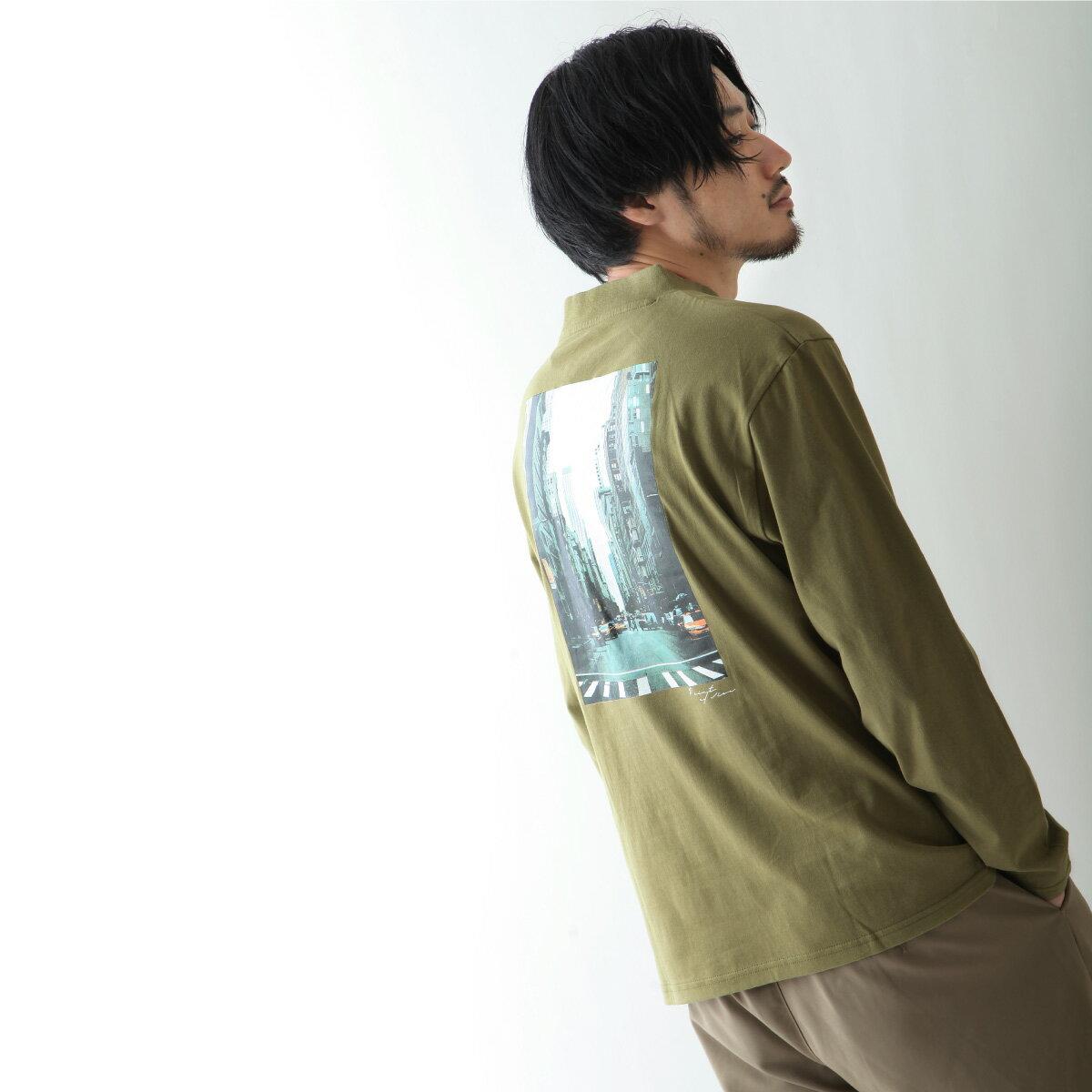 【現貨】微高領長袖T恤 LOGO設計 7