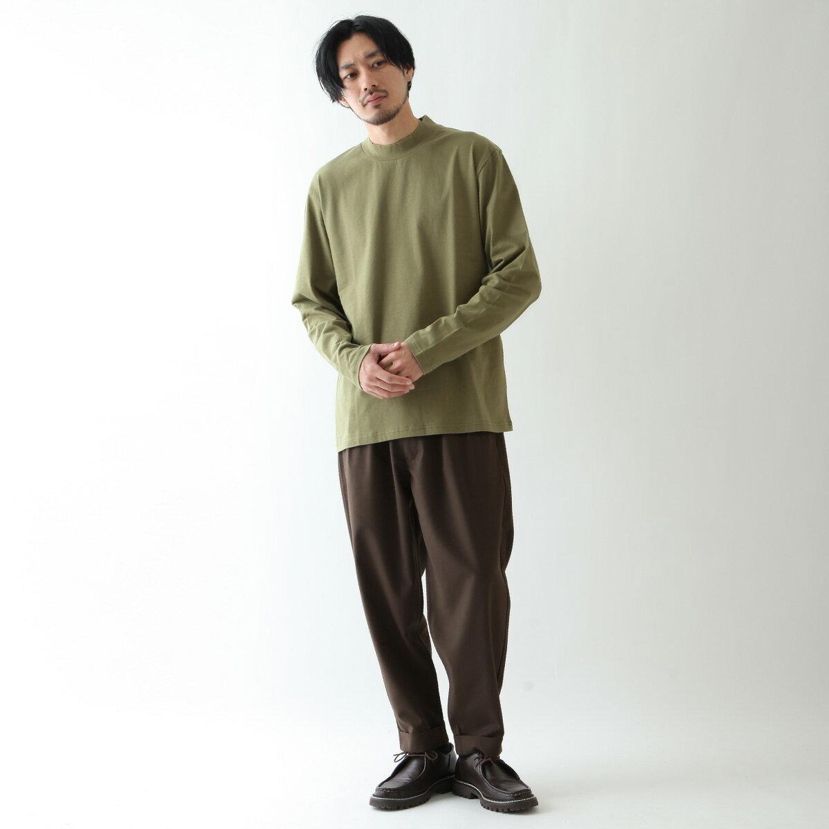 【現貨】微高領長袖T恤 LOGO設計 8