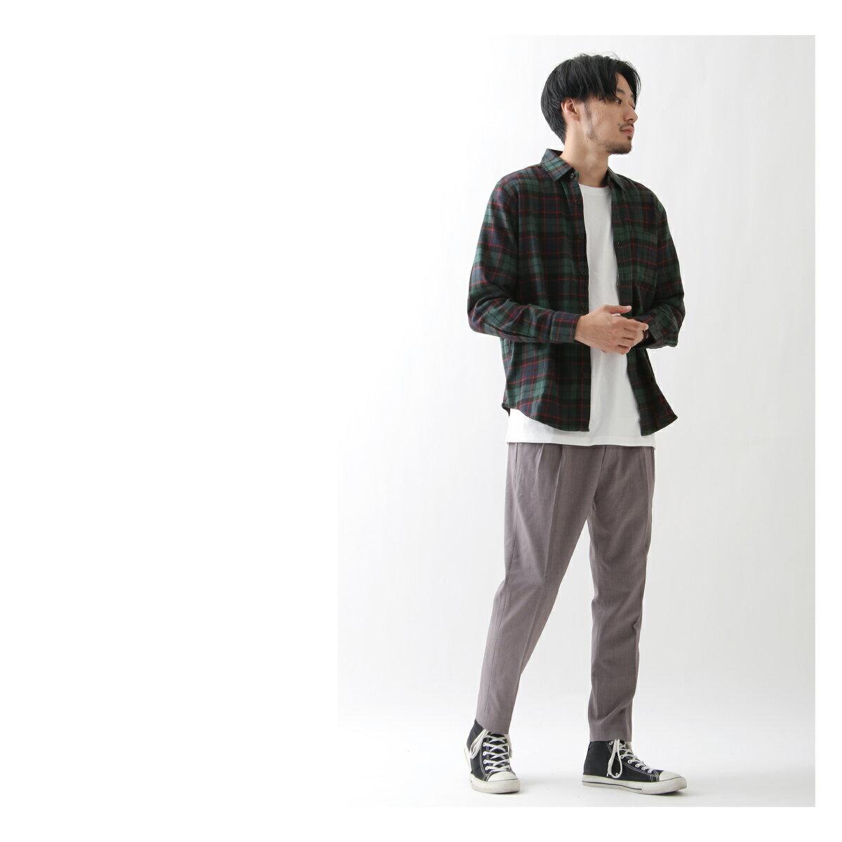 純棉法蘭絨襯衫 格紋 7