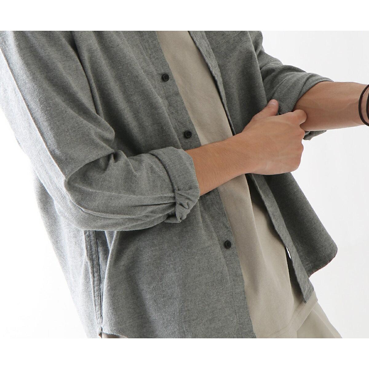 純棉法蘭絨襯衫 格紋 8