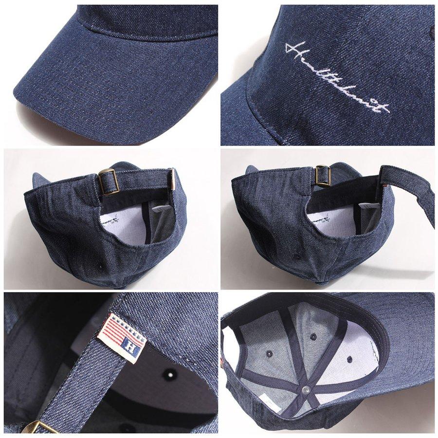 棒球帽 簡約刺繡鴨舌帽 2