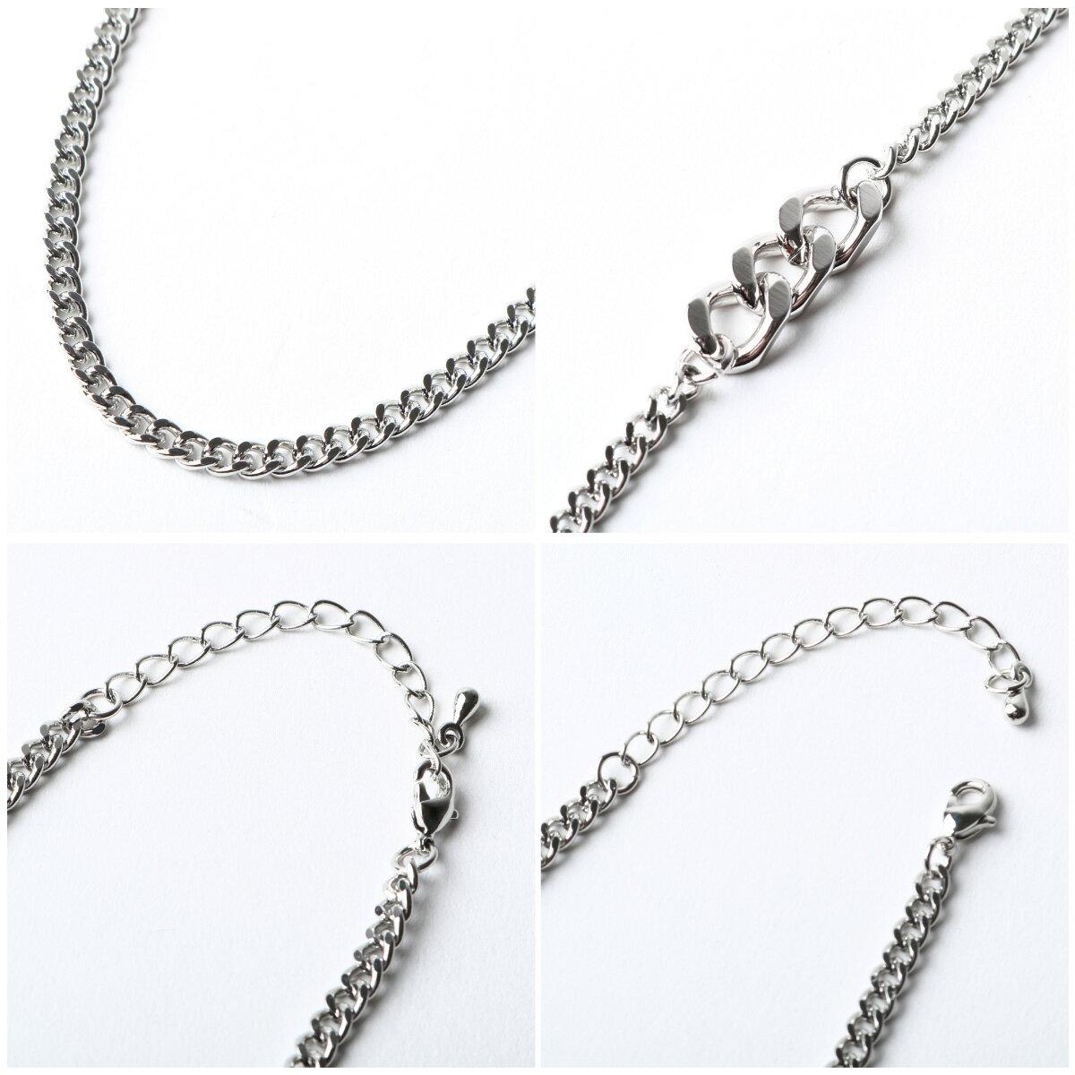 時尚鎖鍊項鍊 銀飾 5