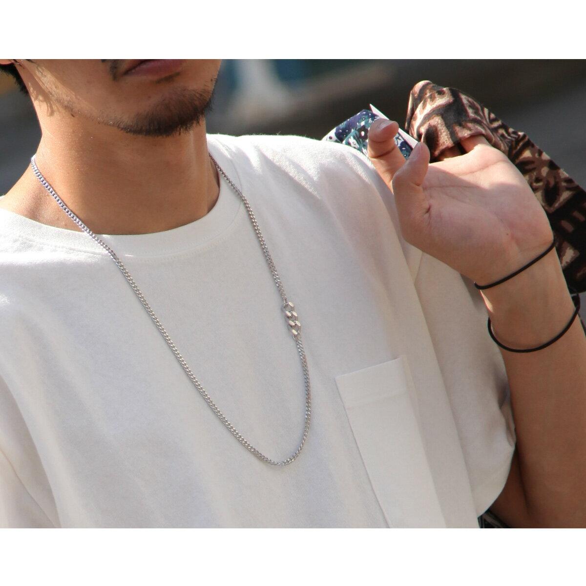 時尚鎖鍊項鍊 銀飾 8