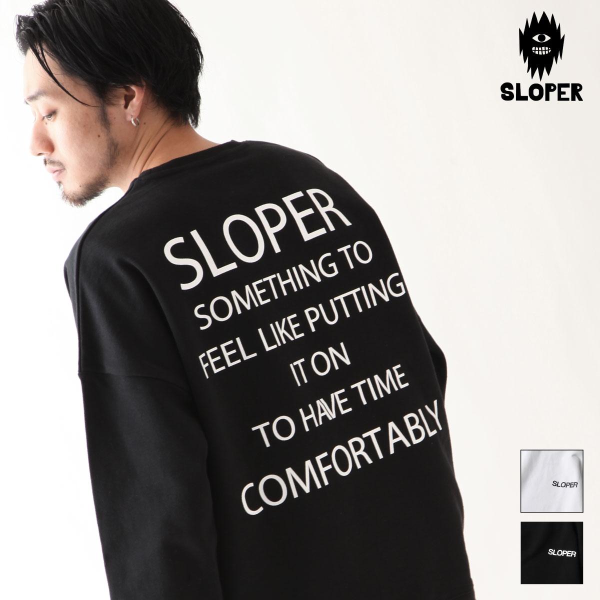 LOGO印刷設計大學Tee  SLOPER 0