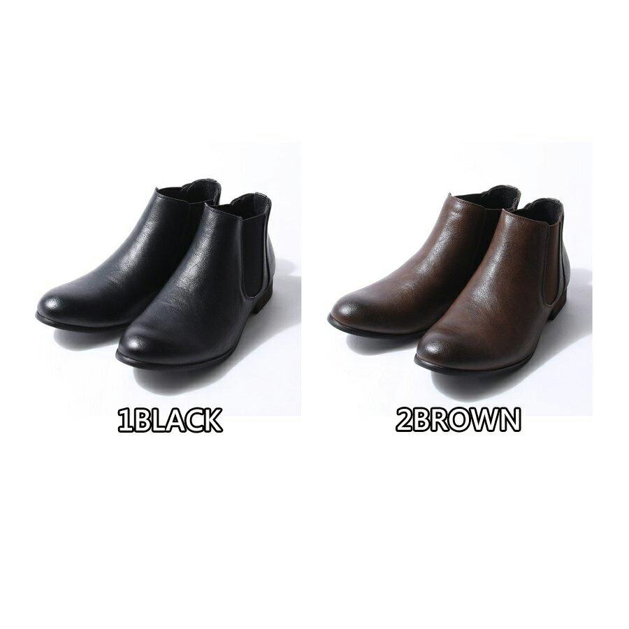 短筒側邊橡膠靴 2