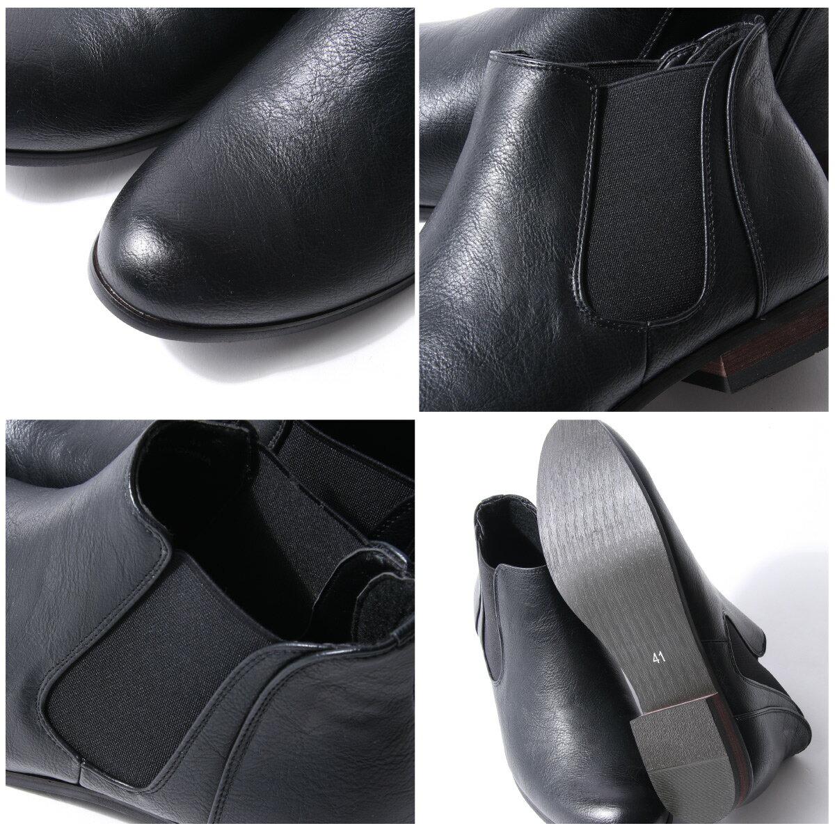 短筒側邊橡膠靴 4