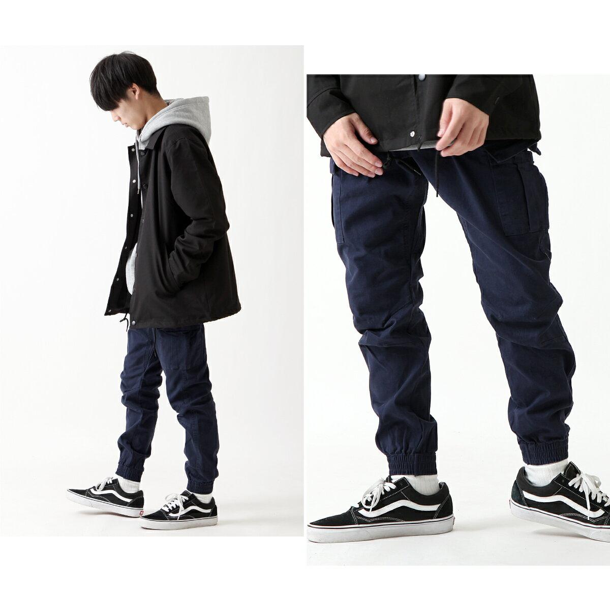 【New】ZIP 窄管束口褲 Skinny 8
