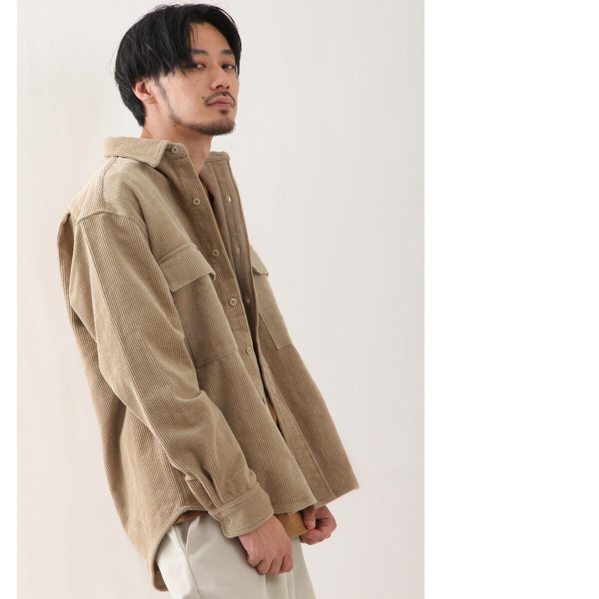 燈芯絨襯衫 口袋 6