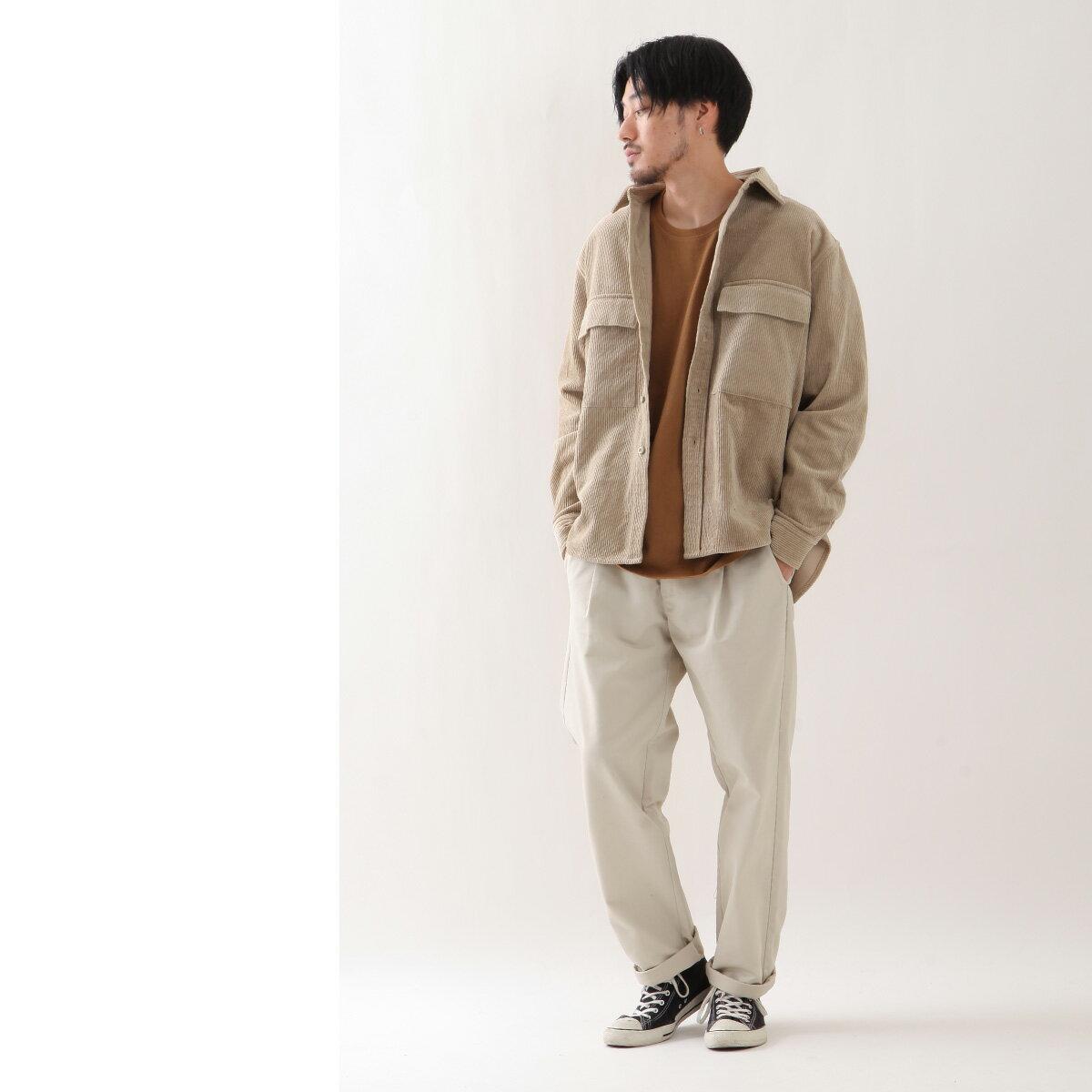 燈芯絨襯衫 口袋 7