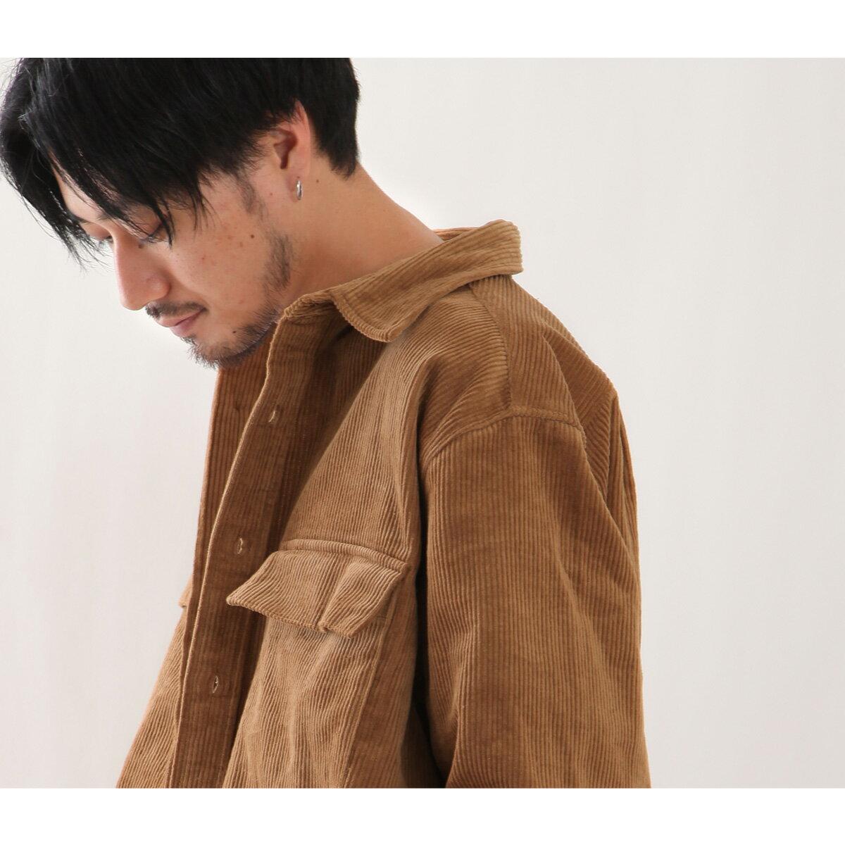 燈芯絨襯衫 口袋 8