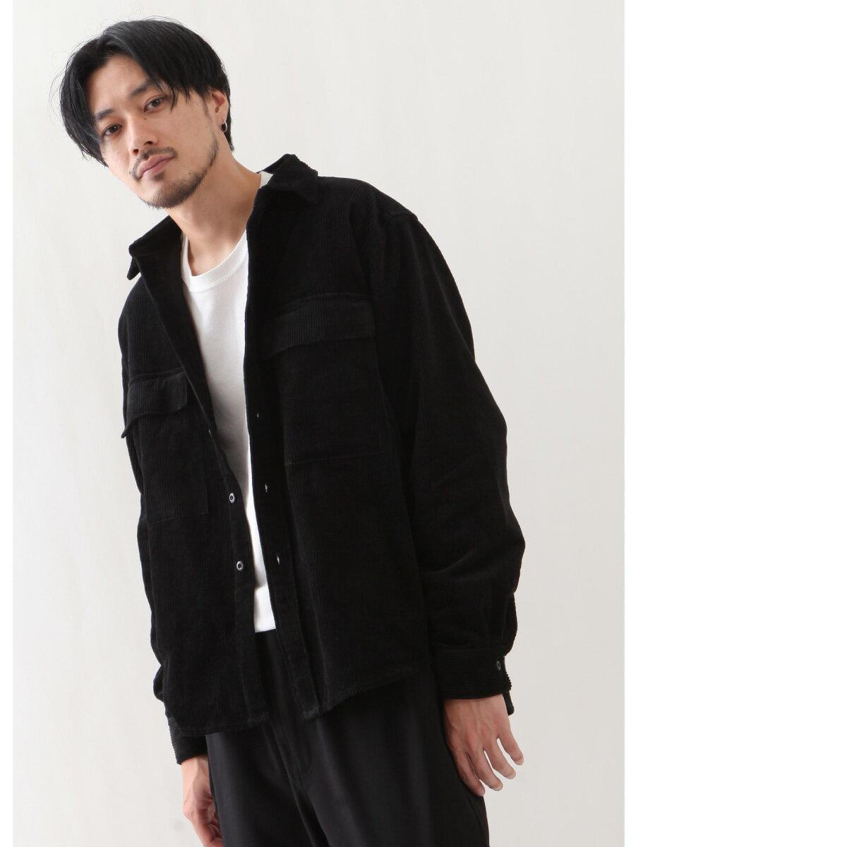 燈芯絨襯衫 口袋 1
