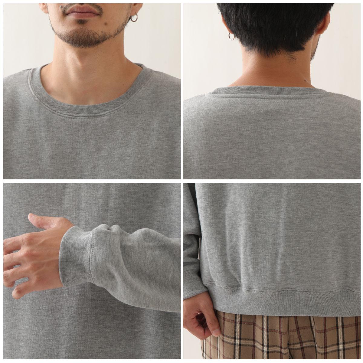寬版針織運動衫 長袖 4