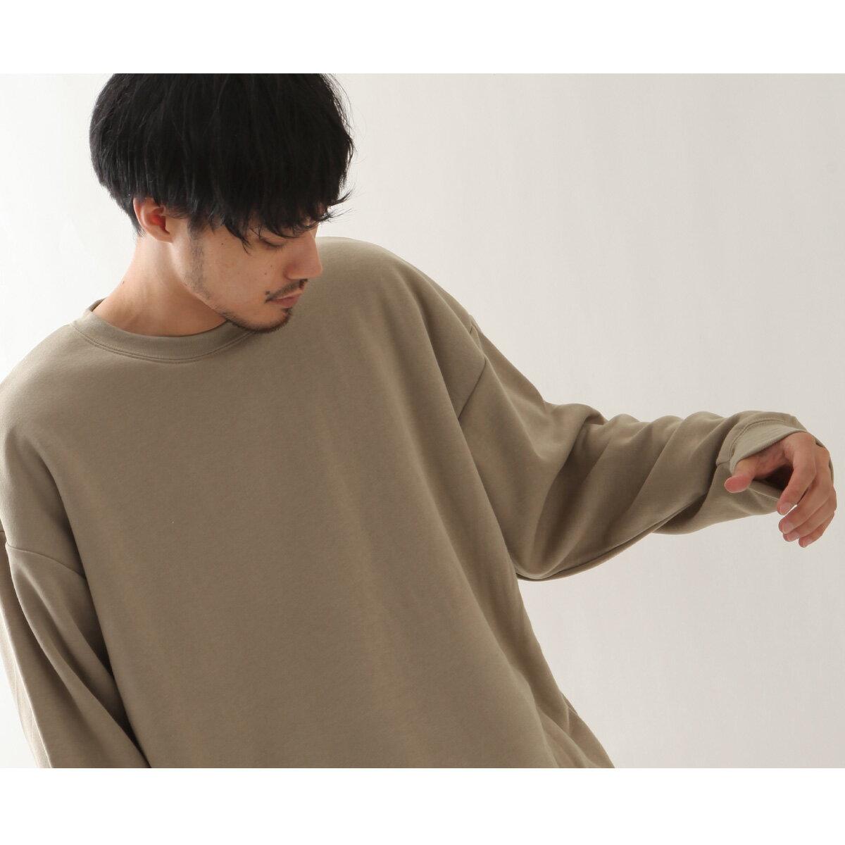 寬版針織運動衫 長袖 7