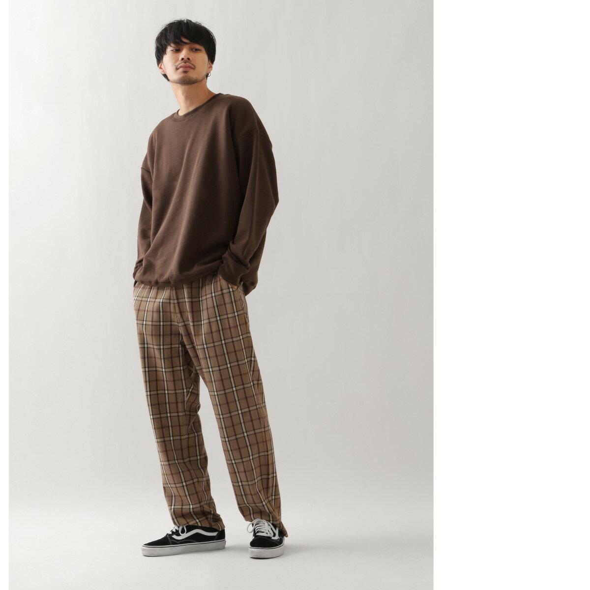 寬版針織運動衫 長袖 8