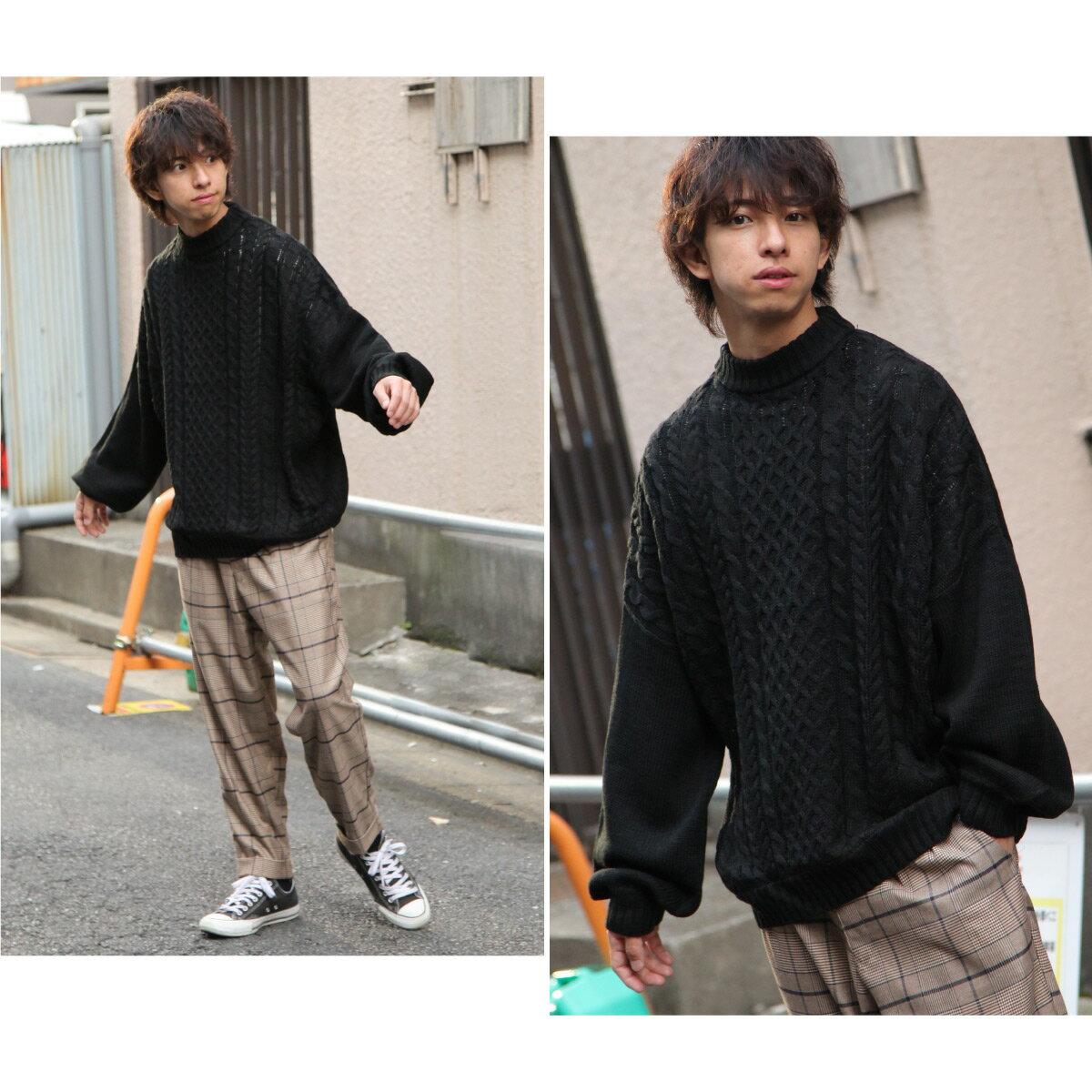麻花針織衫 寬版 7