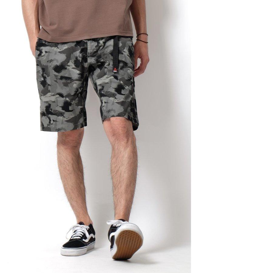 登山短褲 迷彩 6