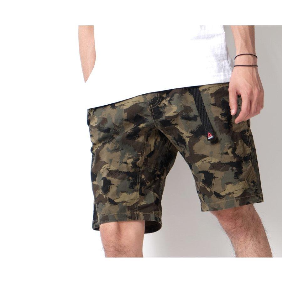 登山短褲 迷彩 1