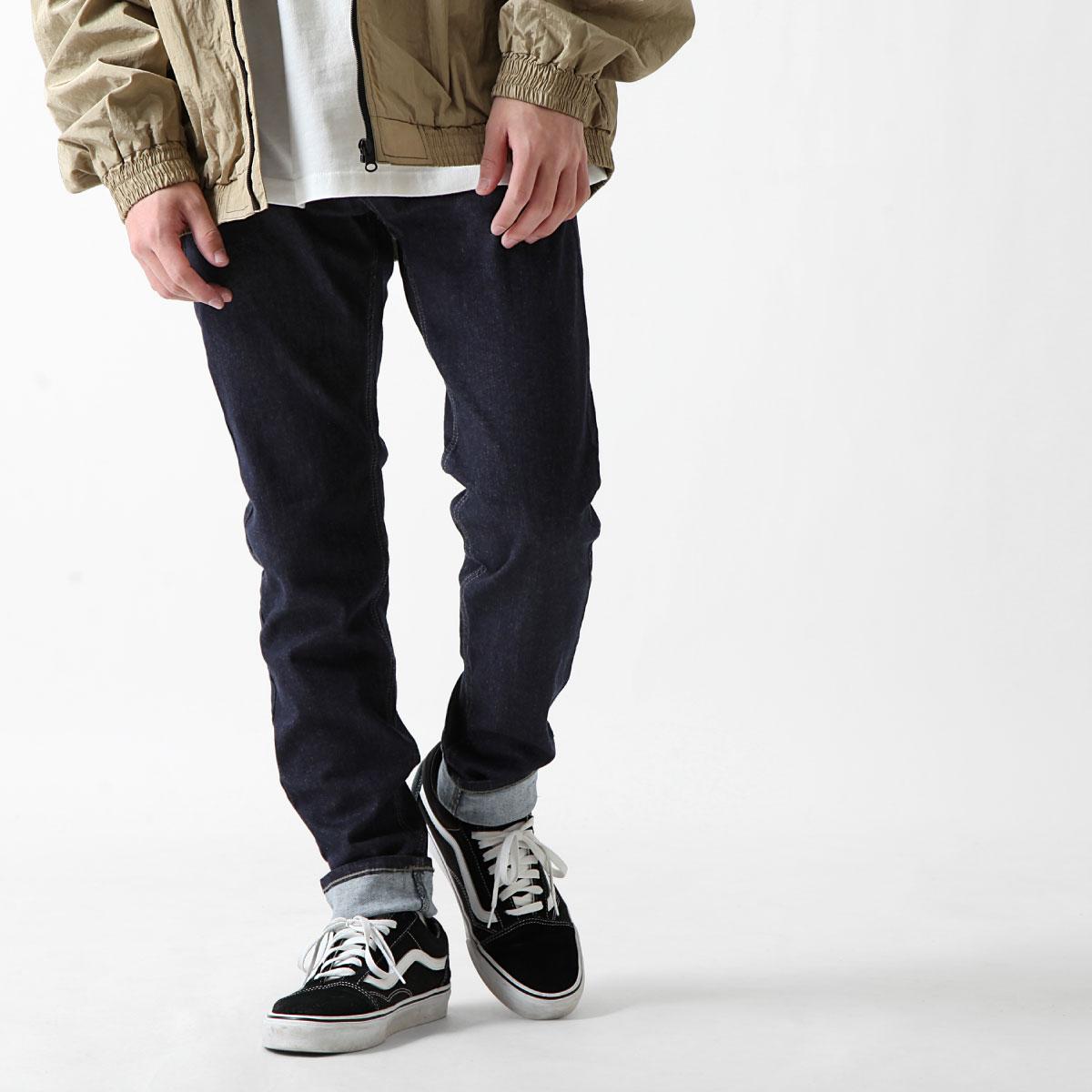 經典丹寧窄管褲 伸縮彈性 1