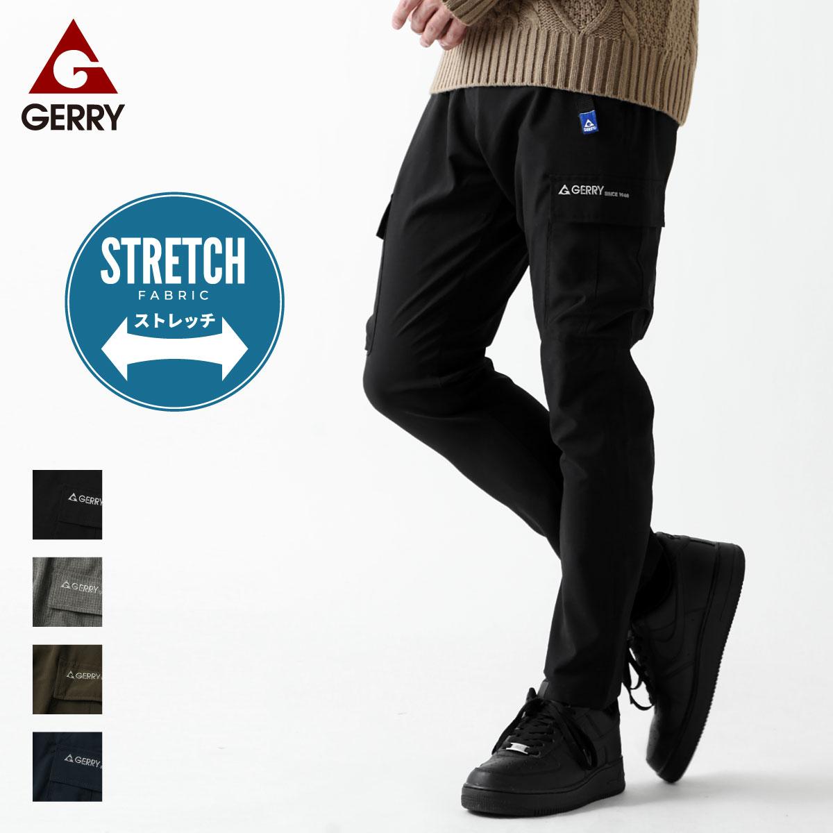 【New】ZIP 工裝長褲 GERRY 0