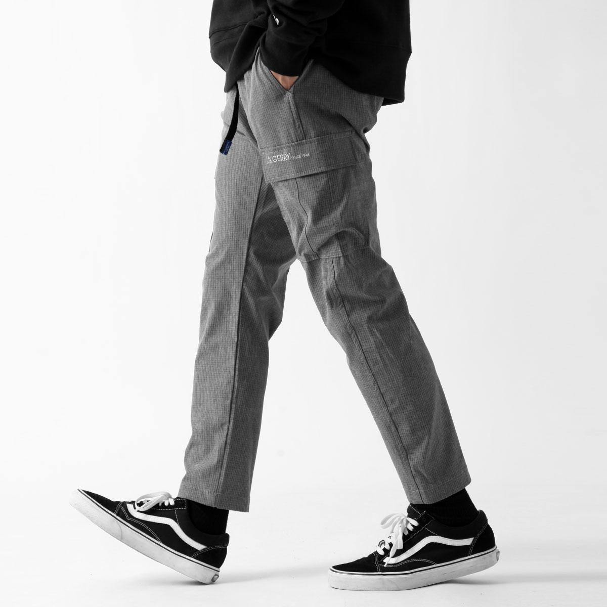 【New】ZIP 工裝長褲 GERRY 1
