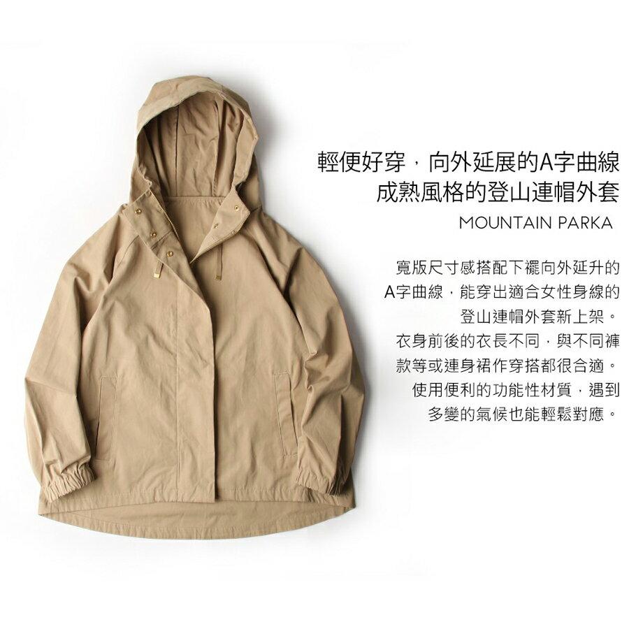 登山連帽外套 防潑水 6