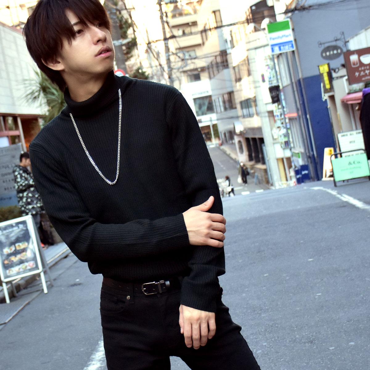 針織衫 高領毛衣 1