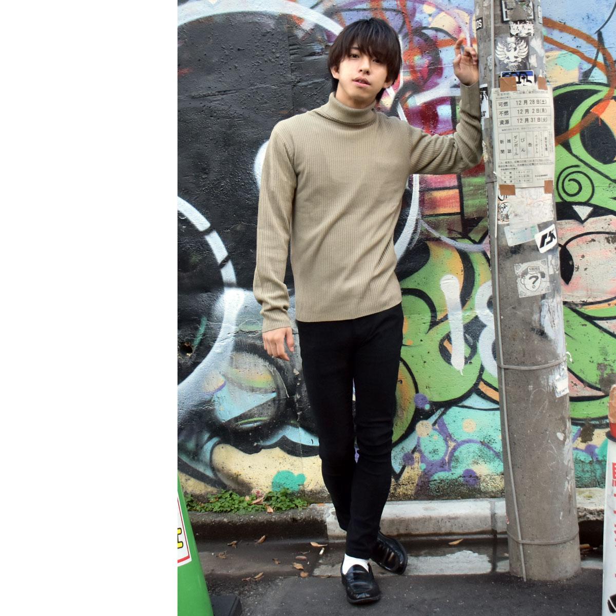 針織衫 高領毛衣 7