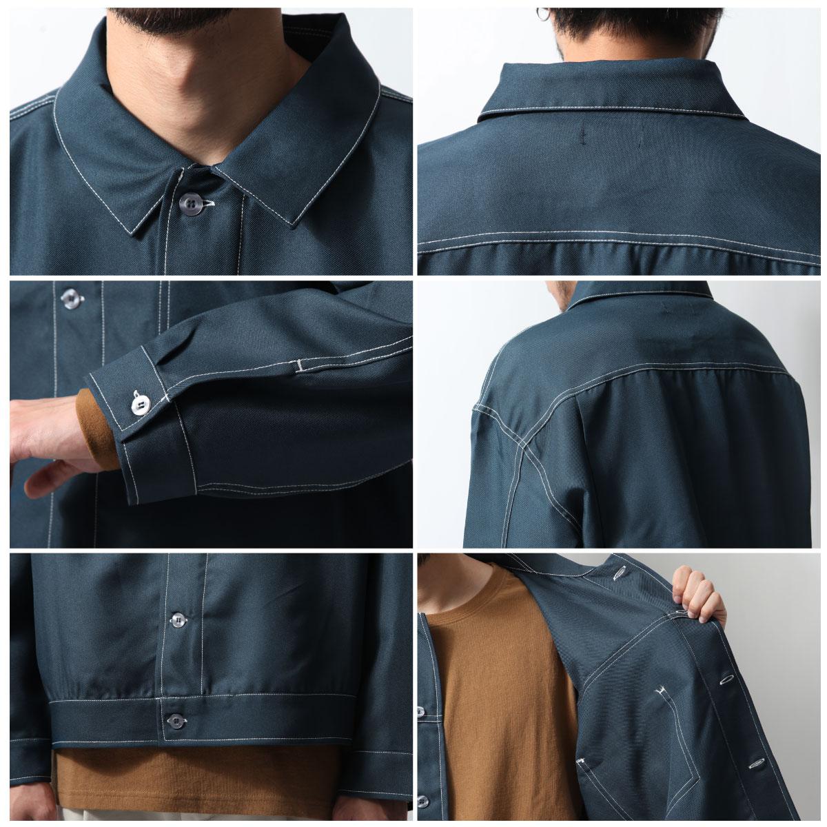 寬版外套襯衫 4