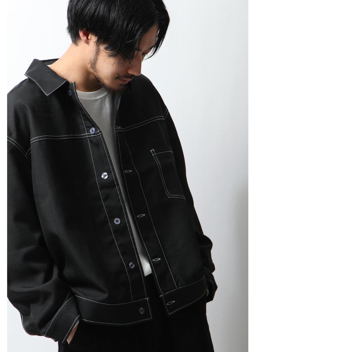 寬版外套襯衫 6