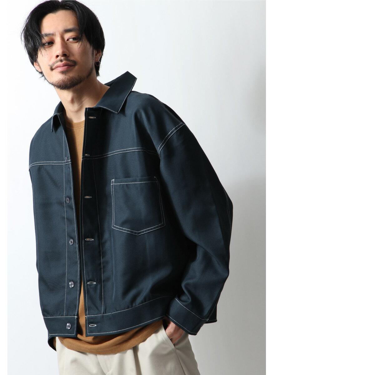 寬版外套襯衫 1