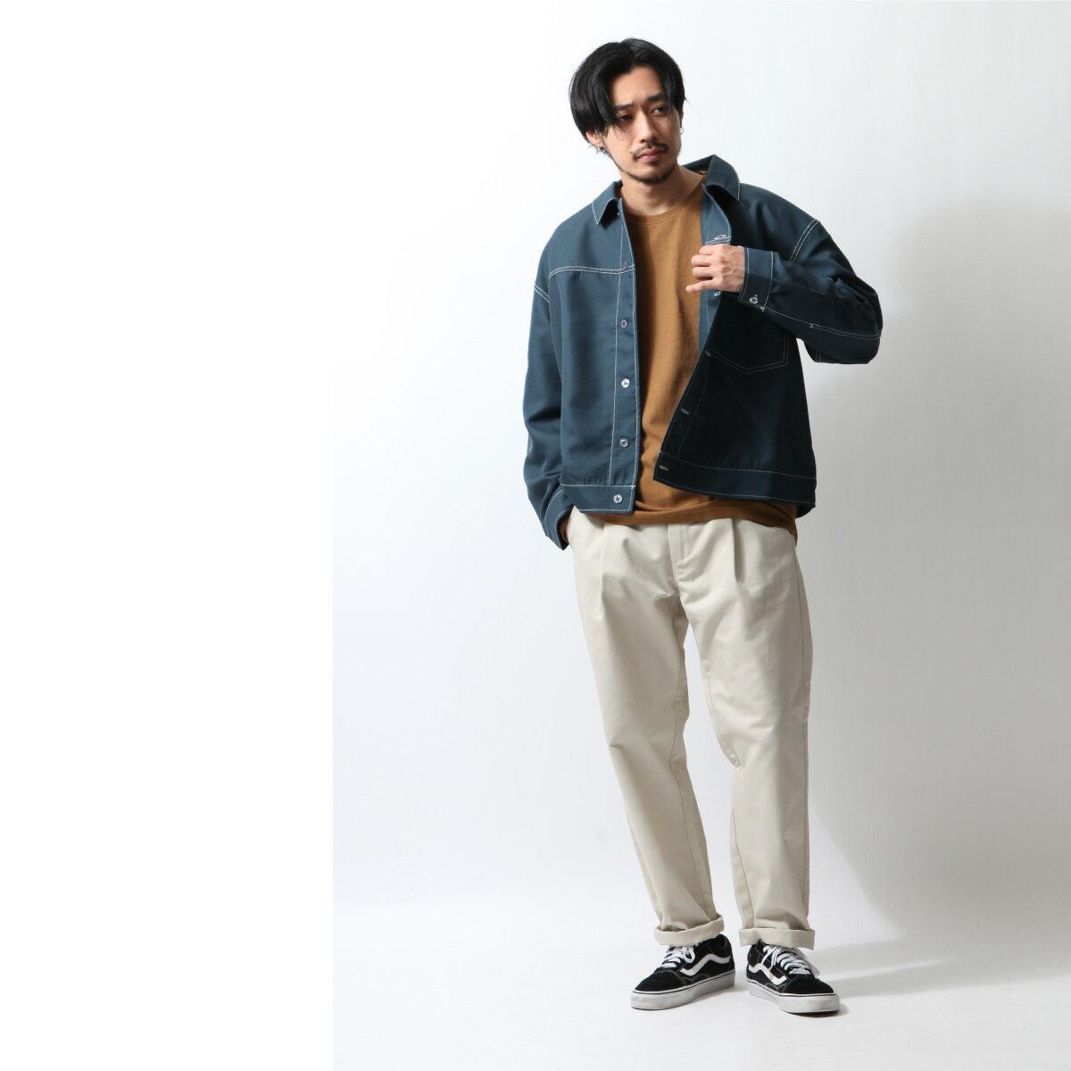 寬版外套襯衫 8