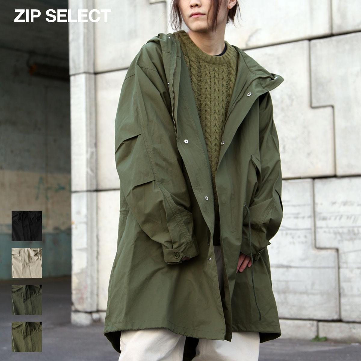 【New】ZIP 摩斯MODS風衣外套 0