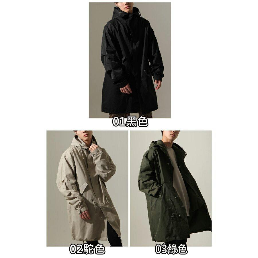 【New】ZIP 摩斯MODS風衣外套 2