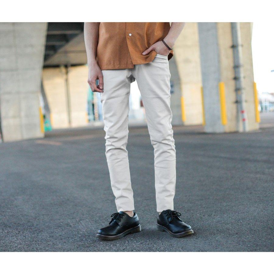 窄管褲 顯瘦俐落 6