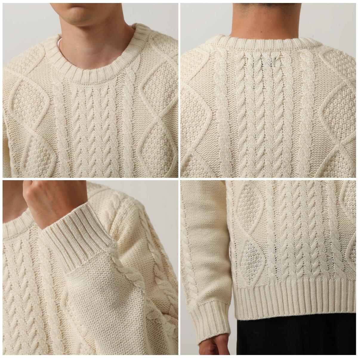 麻花編織針織毛衣 素色  MF這樣變型男特別曝光款 5