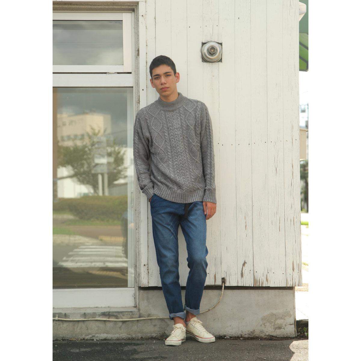 麻花編織針織毛衣 中高領 MF這樣變型男特別曝光款 7