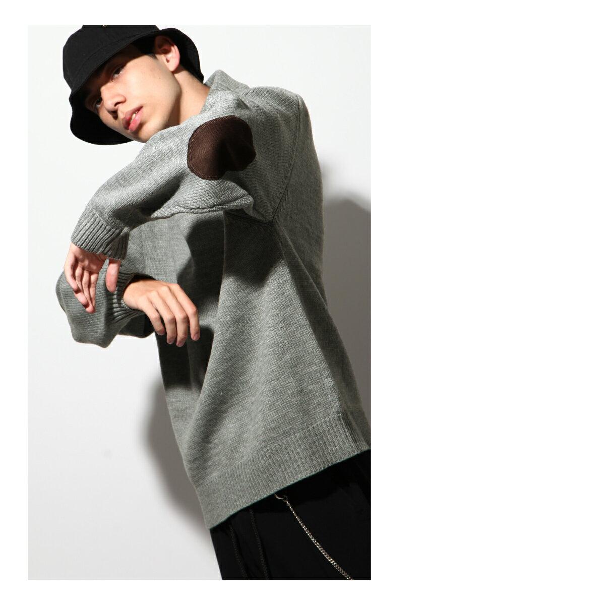 寬版針織毛衣 OVERSIZE 7