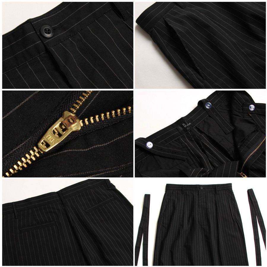 西裝寬褲 彈性 3