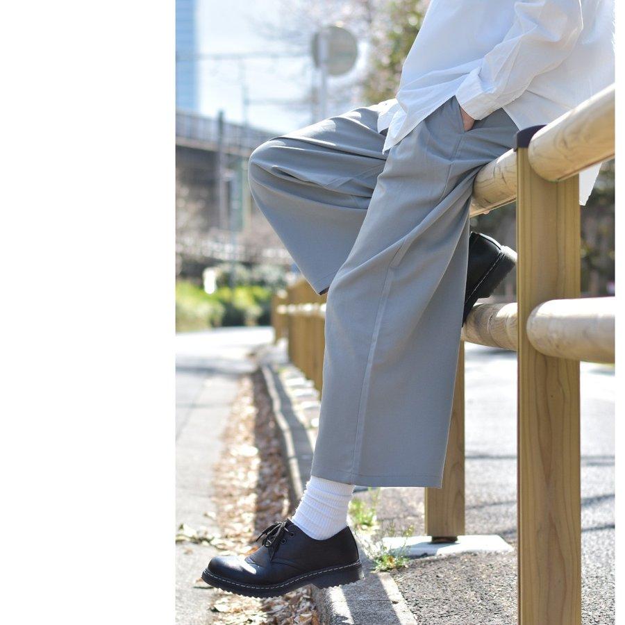 西裝寬褲 彈性 5