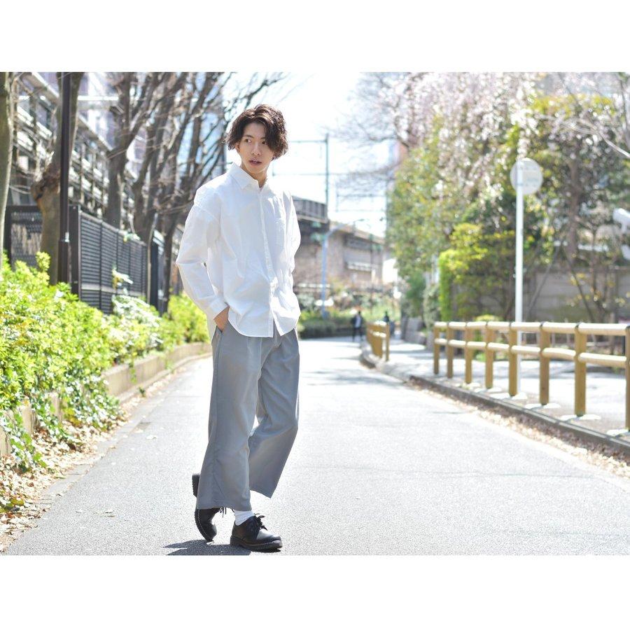 西裝寬褲 彈性 6