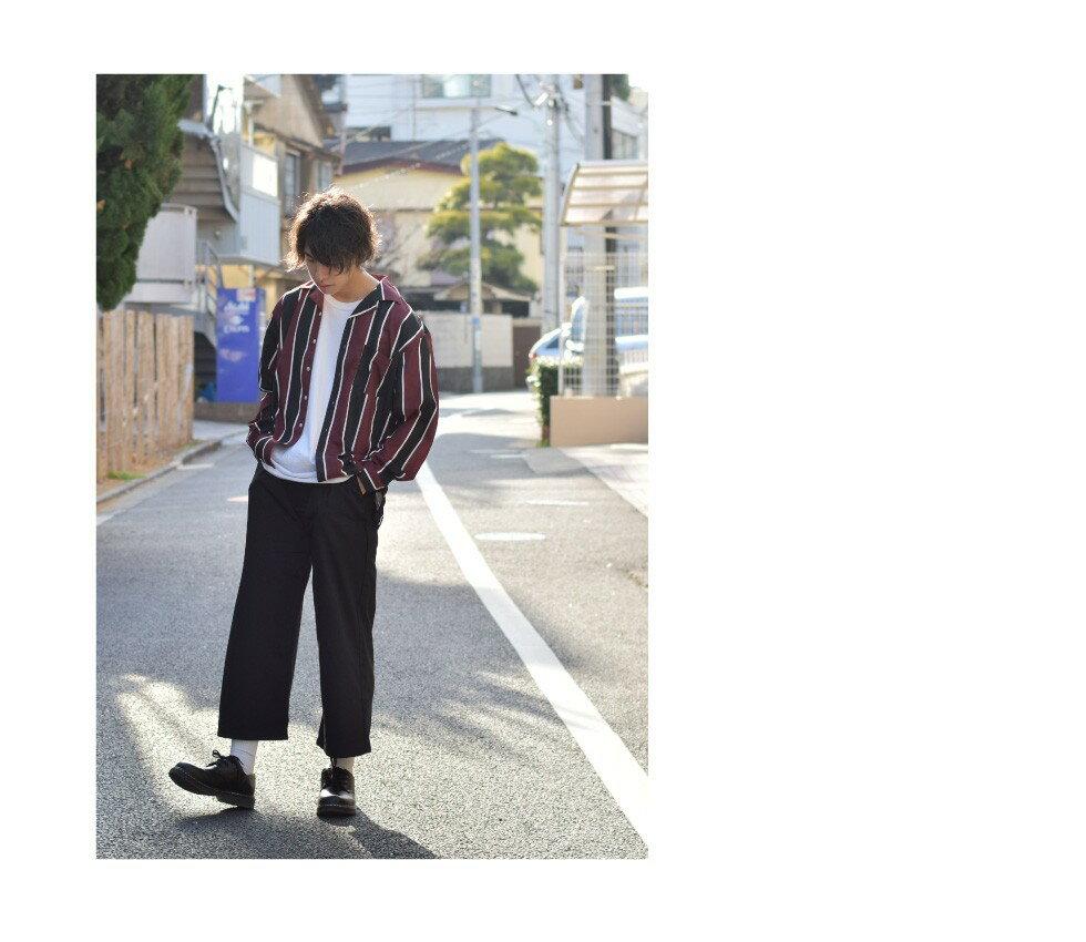 西裝寬褲 彈性 7