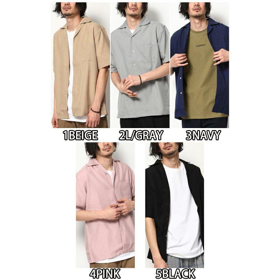 短袖開襟襯衫 休閒衫 2