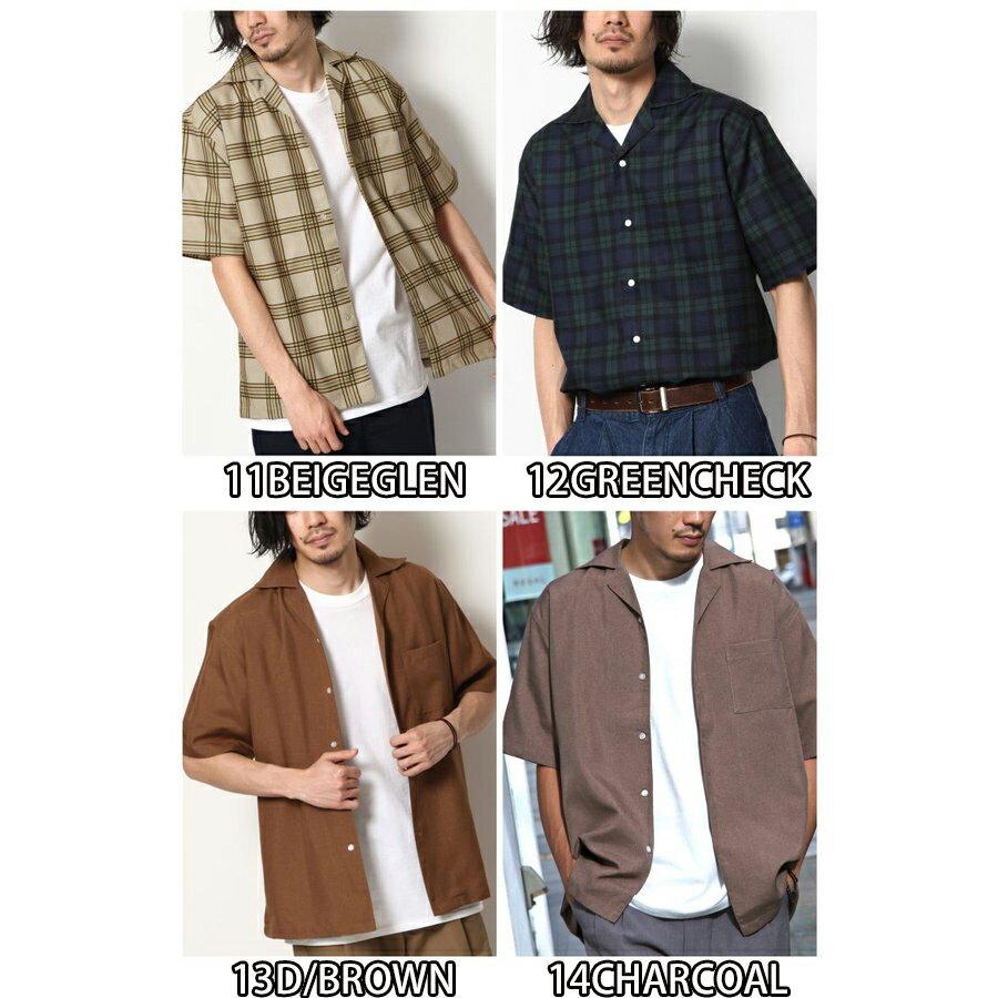 短袖開襟襯衫 休閒衫 4