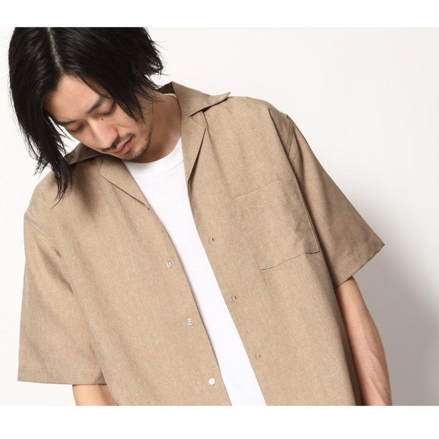 短袖開襟襯衫 休閒衫 1